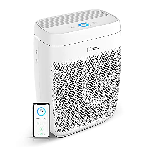 Air Purifier, Zigma Smart WiFi Air Purifier for Large Room up to 1580 ft2, Available for...