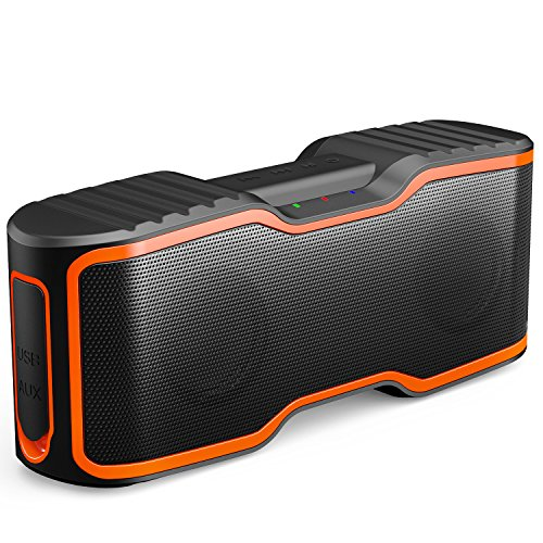 AOMAIS Sport II Portable Wireless Bluetooth Speakers 20W Bass Sound, 15H Playtime,...