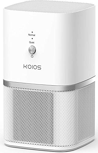 KOIOS Air Purifier, Desktop Air Filtration with True HEPA Filter, Compact Home Air Cleaner...