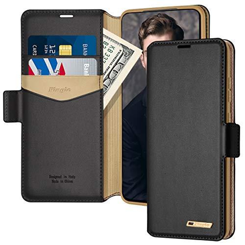 Samsung S20 Ultra Case, Galaxy S20 Ultra Wallet Case,Fingic PU Leather Wallet Case 2 ID &...