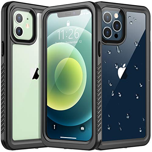 Vapesoon Designed for iPhone 12 Case,for iPhone 12 Pro Case, Waterproof Full Body with...