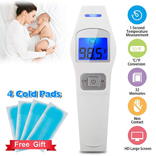 Forehead Thermometer,Digital Thermometer Professional Precision Non Contact...