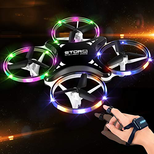 Mini Drone for Kids, 2.4G Gravity Sensor drone for Kids and Beginners, Infrared Obstacle...