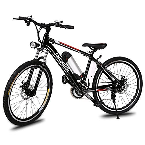 ANCHEER Power Plus Electric Mountain Bike, 26'' Electric Bike with Removable 36V 8Ah...