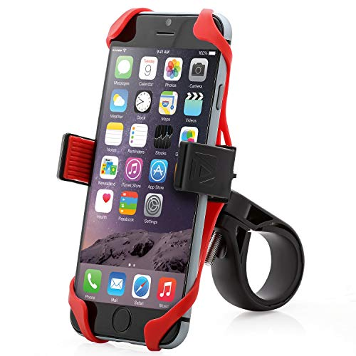 Aduro U-Grip Plus Universal Bike Mount - for Motorcycle, Handlebar, Roll Bar, iPhone X Xs...