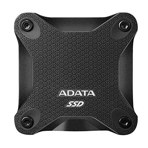 ADATA SD600Q 960GB Ultra-Speed Portable Durable External SSD - Up to 440MB/s - 3D NAND...
