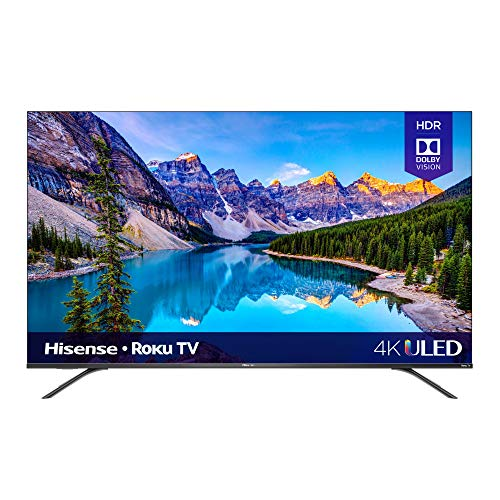 Hisense 55-Inch Class R8 Series Dolby Vision & Atmos 4K ULED Roku Smart TV with Alexa...