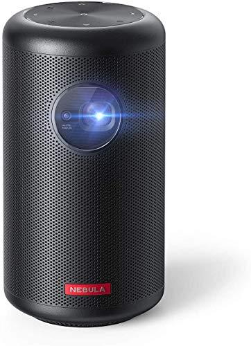 Anker Nebula Capsule Max, Pint-Sized Wi-Fi Mini Projector, 200 ANSI Lumen Portable...
