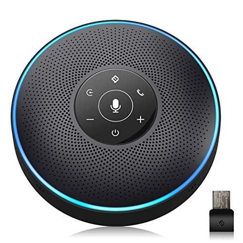 Bluetooth Speakerphone - eMeet M2 Black Conference Speaker for 5-8 People Business...
