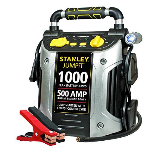 STANLEY J5C09 JUMPiT Portable Power Station Jump Starter: 1000 Peak/500 Instant Amps, 120...