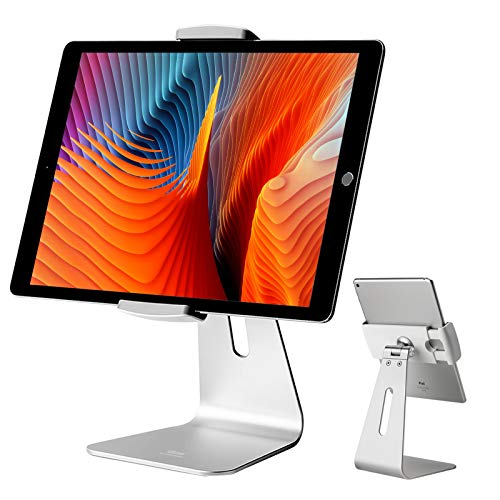 viozon iPad Pro Stand, Tablet Stands 360° Rotatable Aluminum Alloy Desktop Mount Stand...