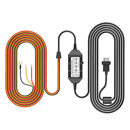 VIOFO HK3-C Acc Hardwire Kit, 13ft USB-C Hard Wire Kit for A139 Dash Cam, Low Voltage...