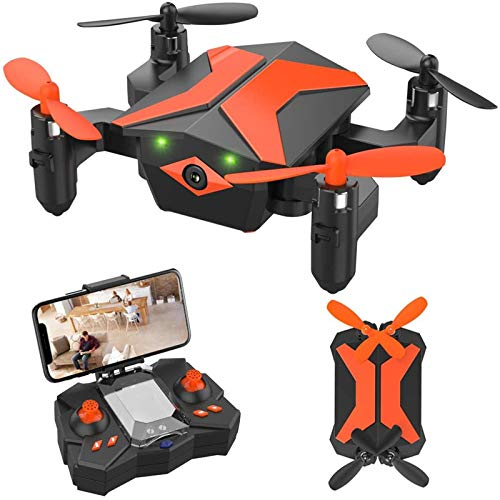 Drone for Kids Drones with Camera for Kids and Beginners, AR Game Mode RC Mini Drone w App...