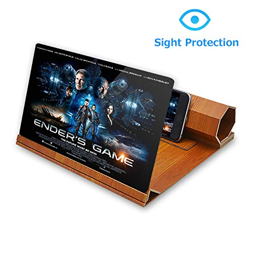 ORETECH Screen Magnifier, 12 inch Foldable Smart Phone Screen Amplifier Projector Movie...