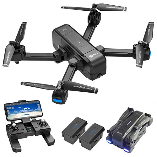 Contixo 4K GPS Quadcopter Drone with HD FPV Camera Live Video for Adults with Custom Case...