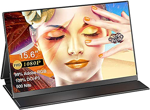 UPERFECT Portbale Monitor 15.6''QLED 100% DCI-P3 99% Adobe RGB 500 Nits Brightness,...