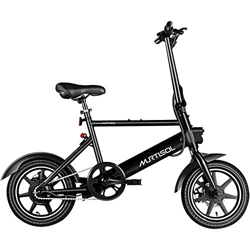 Murtisol Electric Bicycles Aluminium Adult Ebike 36V 6AH Lithium Battery, Dual Disc...
