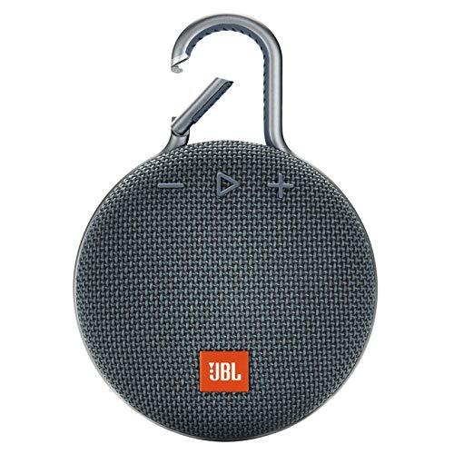 JBL CLIP 3 - Waterproof Portable Bluetooth Speaker - Blue