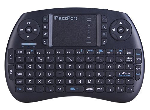 iPazzPort Wireless Mini Keyboard with Touchpad for Android TV Box and Raspberry...