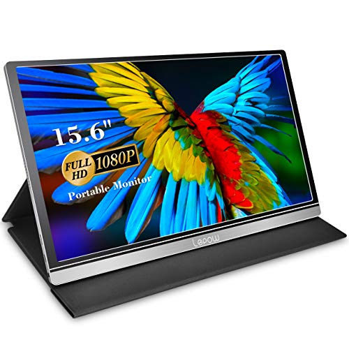 Portable Monitor - Lepow Z1-Gamut (2021) 15.6 Inch FHD 1080P High Color Gamut Computer...
