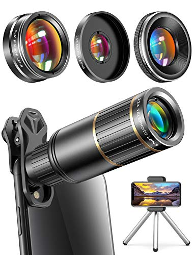 CoPedvic Phone Camera Lens Phone Lens for iPhone Samsung Pixel One Plus Huawei, 22X...