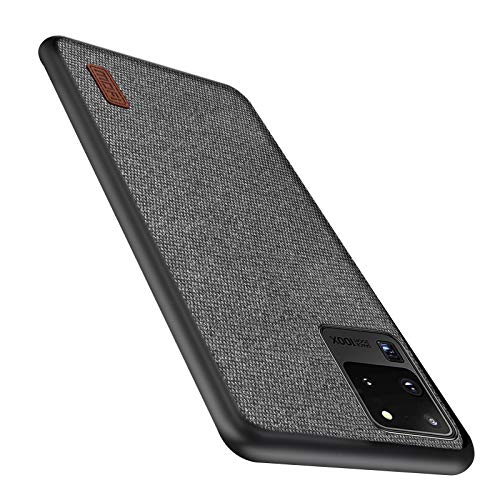 Mofi Shockproof Case Compatible with Samsung S20 Ultra 5G Case Slim Matte Fabric Thin...