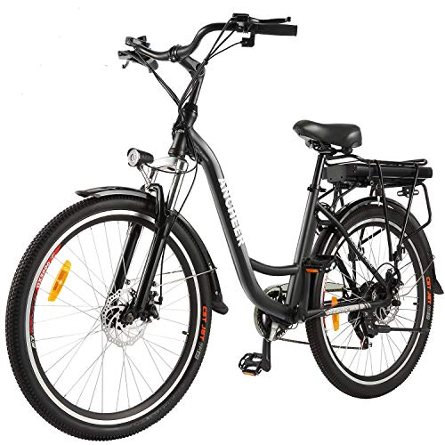 ANCHEER 26' Aluminum Electric Bike, Adults Electric Commuting Bicycle with Removable...