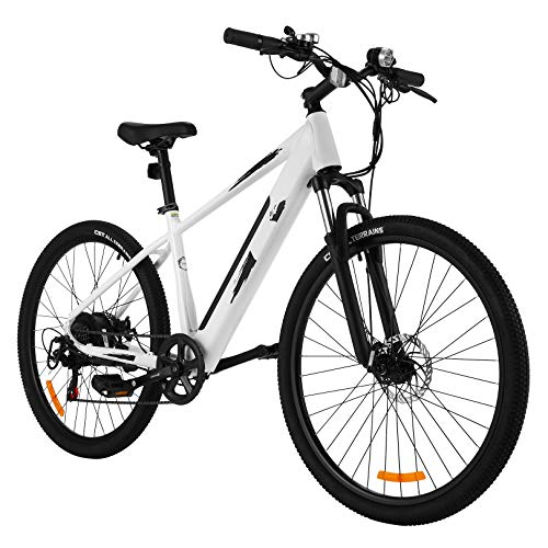 ANCHEER 27.5' Aluminum Electric Bike, 700C 350W Adults Electric Commuting Bicycle with...