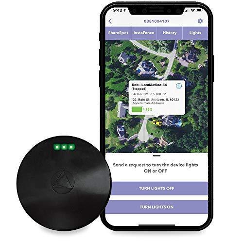 LandAirSea 54 GPS Tracker, - USA Manufactured, Waterproof Magnet Mount. Full Global...