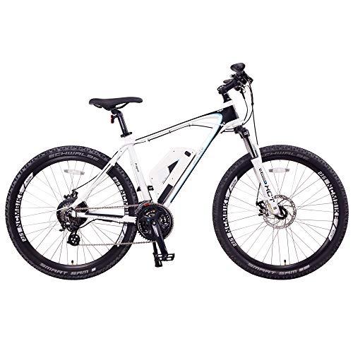Prague Electric Mountain Bike 468Wh 36V/13AH Matte White 27.5'
