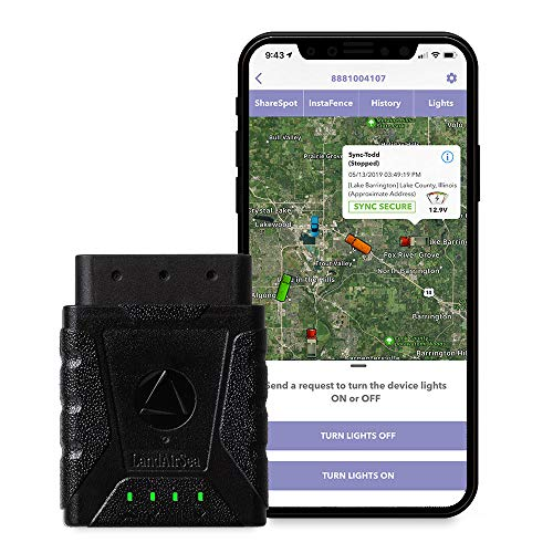 LandAirSea Sync GPS Tracker - USA Manufactured. 4G LTE Real Time Tracking. Fleet Tracker....