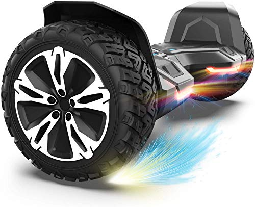Gyroor Warrior 8.5 inch All Terrain Off Road Hoverboard with Bluetooth Speakers and LED...