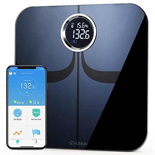 YUNMAI Premium Smart Scale - Body Fat Scale with New Free APP & Body Composition Monitor...