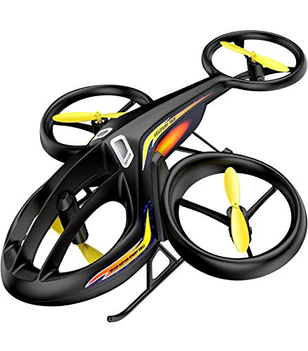 RC Helicopter, SYMA Latest Remote Control Drone with Gyro and LED Light 4HZ Channel...