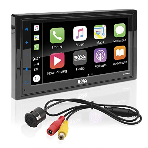 BOSS Audio Systems BVCP9685RC Apple CarPlay Android Auto Car Multimedia Player with...