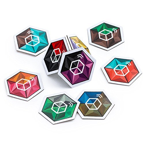 Crystal Cube NTAG 215 NFC Tags with Tough 3M Sticker ▼Our Tags Work On Metal Surfaces...