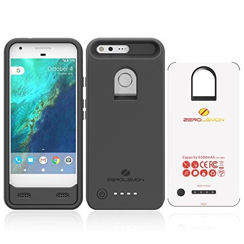 Google Pixel Battery Case, ZeroLemon Ultra Power 6500mAh Extended Battery Case for Google...