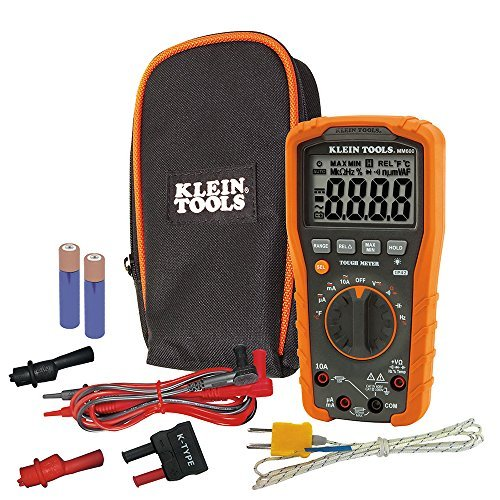 Klein Tools MM600 HVAC Multimeter, Digital Auto-Ranging Multimeter for AC/DC Voltage, and...
