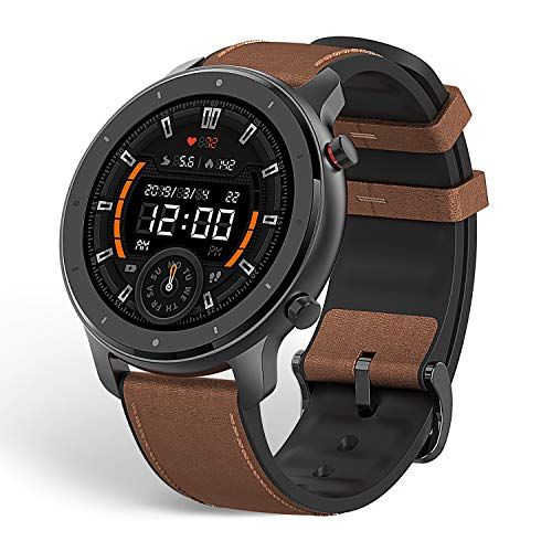 Amazfit GTR Smartwatch, 1.39'' AMOLDED Display 24/7 Heart Rate Monitor, 24 Day Batter...