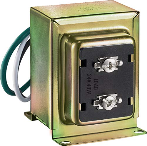 Newhouse Hardware 40TR 24-Volt 40vA Wired Door Bell Transformer for Powering Multiple...