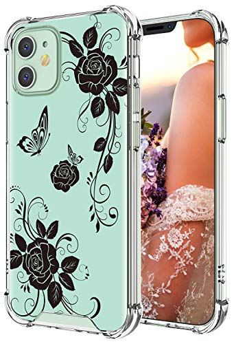 Cutebe Clear Case for iPhone 12,for iPhone 12 Pro, Shockproof Series Hard PC+ TPU Bumper...