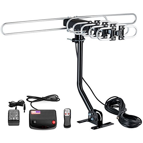 ViewTV UHD-3942A Antenna Long Range HDTV/Indoor Attic HDTV Antenna with Mounting Pole -...