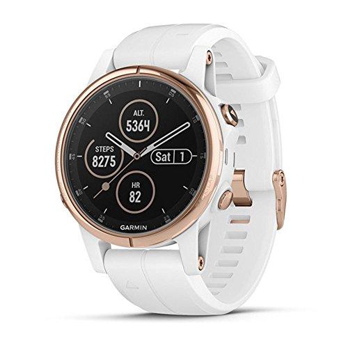 Garmin fenix 5S Plus, Smaller-Sized Multisport GPS Smartwatch, Features Color Topo Maps,...