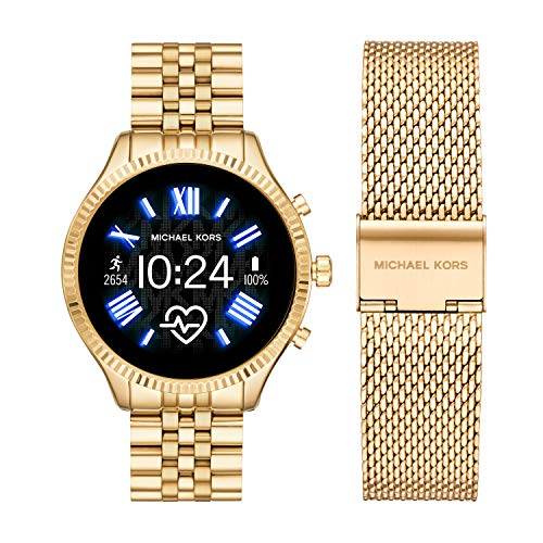 Michael Kors Access  Lexington 2 Touchscreen  Stainless Steel  Smartwatch, Gold...