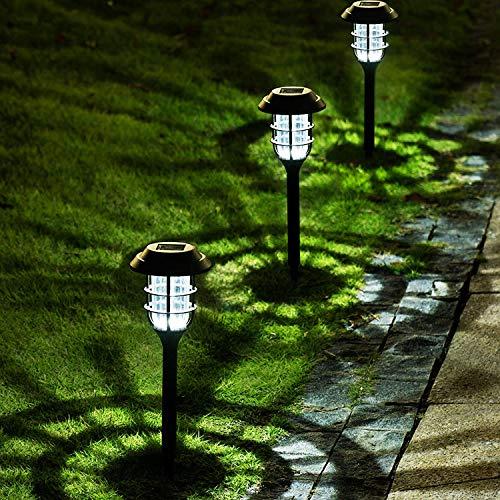 Solpex 8 Pack Solar Pathway Lights Outdoor, Solar Powered Garden Lights, Waterproof Led...