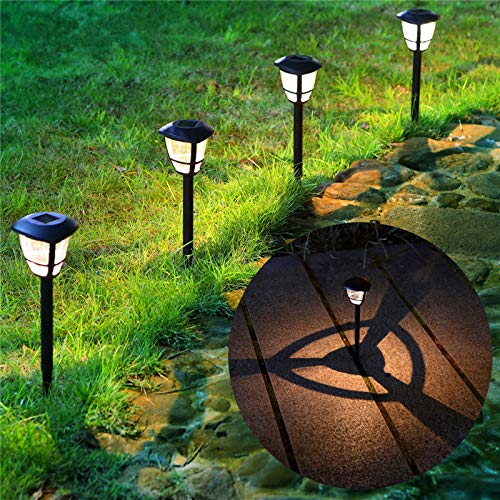 MAGGIFT 12 Pack Solar Powered Landscape Lights Outdoor Pathway Lights, Waterproof Solar...