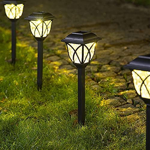 Solpex Solar Pathway Lights Outdoor, LED Solar Garden Lights, Waterproof Solar Landscape...