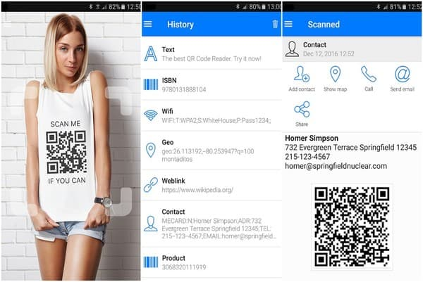 QR Code Reader by Scan Mobile