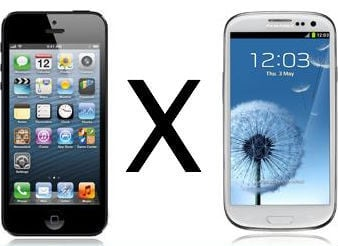 iPhone5 Vs Samsung Galaxy 3
