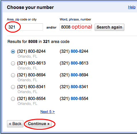 free phone number for google verification